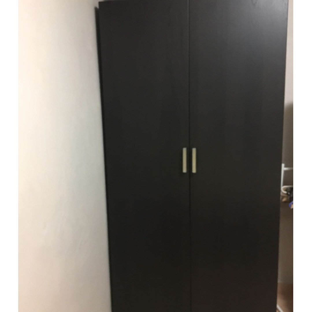 Wooden Wardrobe Furniture Shelves Drawers On Carousell