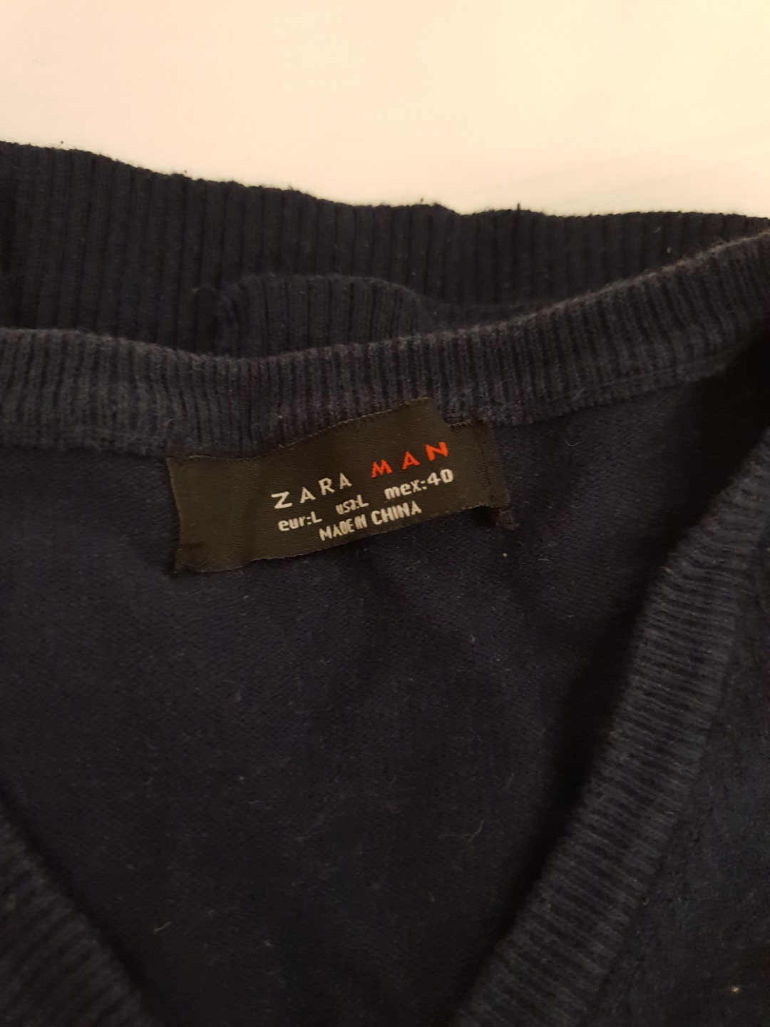 c590843f9fff1 Zara Long Sleeve Pull Over Size M