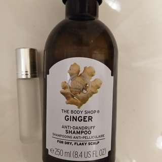 The Body shop ginger anti dandruff shampoo anti ketombe ORIGINAL