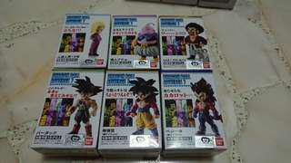 Dragon Ball adverge 7 complete set of 6