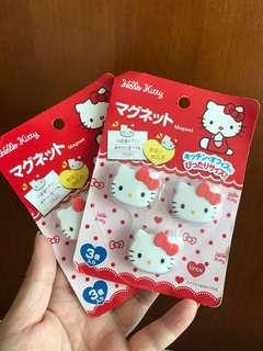 購自日本 Hello Kitt 磁石貼(包郵)