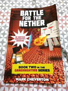 Minecraft Book: Battle for the Nether