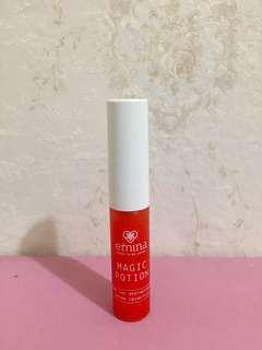 Emina magic potion liptint shade Sunglow #02 warna orange