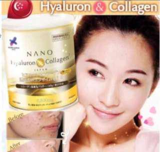 Restocked! WORLD #1 Collagen Japan NANO Collagen Hyaluron 35 Days Serving Supplement Size Up