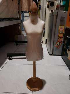 全新小型女裝模型公仔 mini female dummy