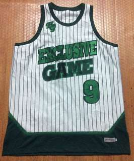 Exclusive Game limited Edition Jersey Authentic