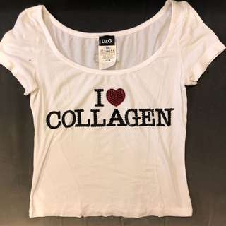 Dolce Gabbana cropped tee