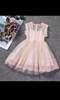 Pink Tulle Tutu Dress 2-6 years old
