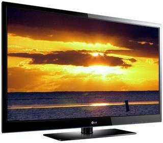 "Full HD 50"" inch LG Flat Screen Plasma TV 50PK550"