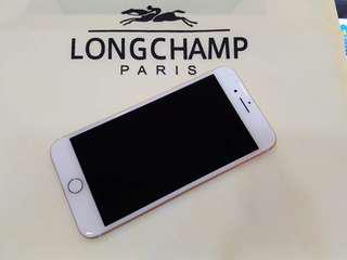 高雄 Apple iPhone 7 Plus 玫瑰金 128G 光學防手震/雙鏡頭/雙喇叭 機況漂亮,原廠盒裝齊全