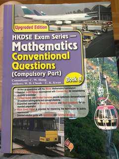 HKDSE Exam Serier Math Conventional Question (Compulsory Part) Book A B