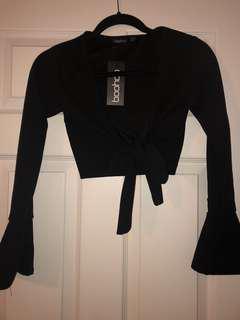 Black tie up top