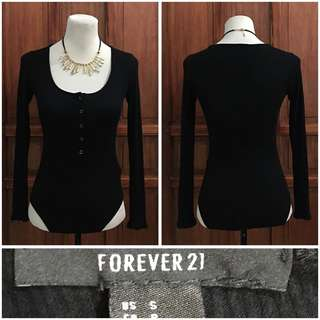 Forever 21 body suit (small- Medium) 120 pesos only