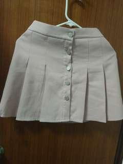 dirty pink skirt