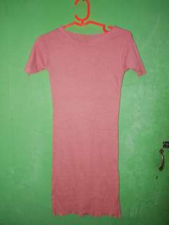 Old rose fitted dress