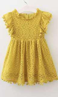 Tassel Princess Dress 3-7 years old