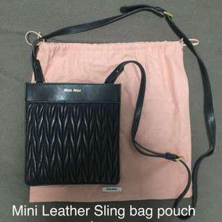 MiuMiu Mini sling bag pouch