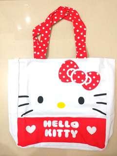 Hello Kitty Tote bag 30 x 30 x 8cm (全新)