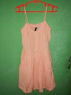 Coral Pink H&M Dress
