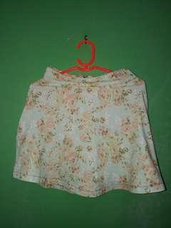 Floral Mint green Skirt