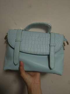 全新淺藍色袋shoulder bag