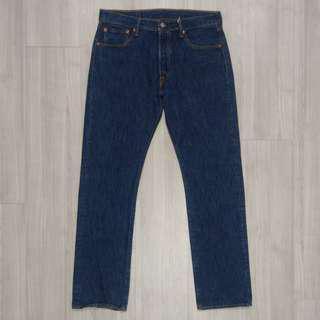 🚚 Levi's levis 00501-0115 w32 L32 深色原色直筒排釦牛仔褲 501 512 534