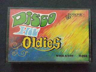 Disco Hit Oldies Volume 1 Cassette 錄音帶