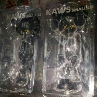 Kaws Companion open edition Small Lie Black 100% brand new figure