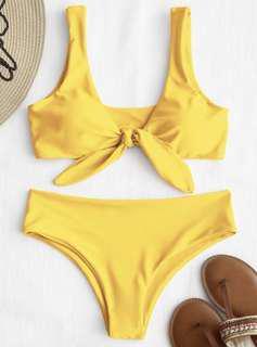 Zaful front tie bikini