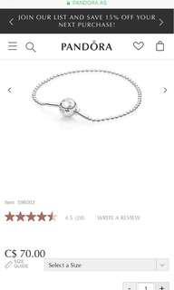 AUTHENTIC Pandora Essence Bracelet