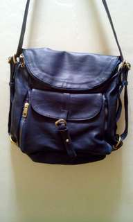 [FLASH SALE] 3 in 1 tas biru dongker