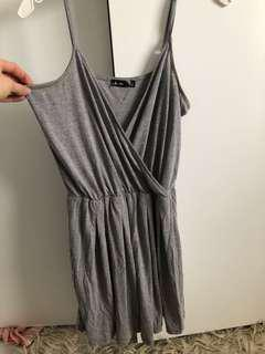 Grey play suit