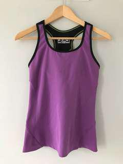 New Balance running top with built-in bra, size Small