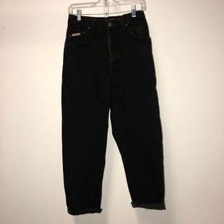 Black Vintage High waisted jeans