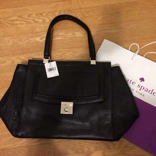 New w tag Kate spade black tote