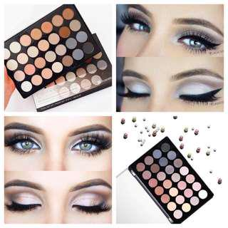 (READY STOCK) BH COSMETICS - Essential Eyes 28 Color Eyeshadow Palette