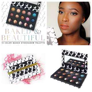 (READY STOCK) BH COSMETICS - Baked & Beautiful 20 Color Baked Eyeshadow Palette