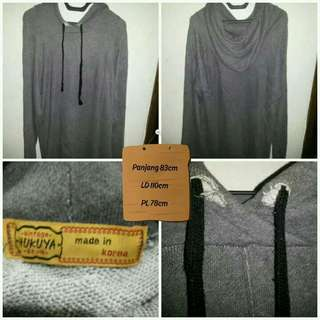 Longsleeves Hoodie Vintage Style Made in Korea