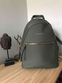 Tommy Hilfiger Camo Green Waterproof Backpack