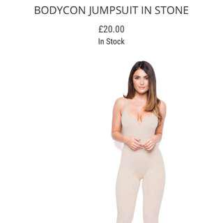 Oh Polly jumpsuit in BLACK small