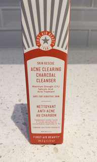 FAB Acne Charcoal Cleanser