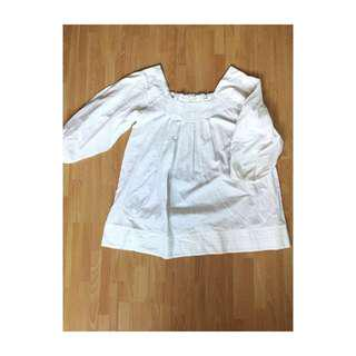 White Loose Top #50Under