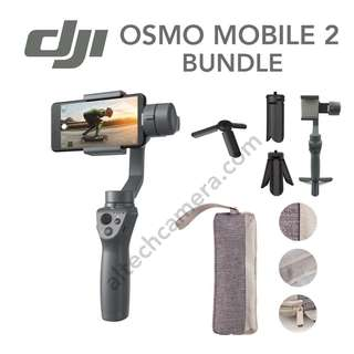 Brand New DJI OSMO MOBILE 2 Bundle (Tripod Stand + Carry Case)
