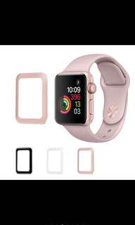 Iwatch rosegold 38mm tempered glass screen protector