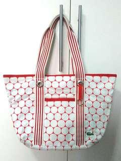 Authentic Lacoste Fabric Bag