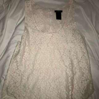 Talula Lace Shirt- Aritzia