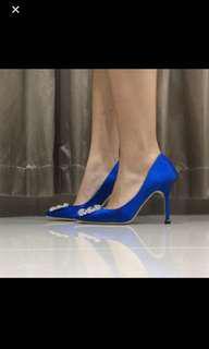 FAST SALE - MANOLO BLAHNIK BLUE