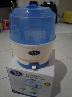 Babysafe steam sterilizer