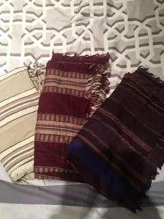 Aritzia Blanket Scarves