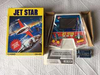 Casio 懷舊手提遊戲機 Jet Star